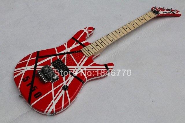 New Arrival Eddie Van Halen 5150 Electric GuitarKramer Floyd Rose GuitarFree Shipping
