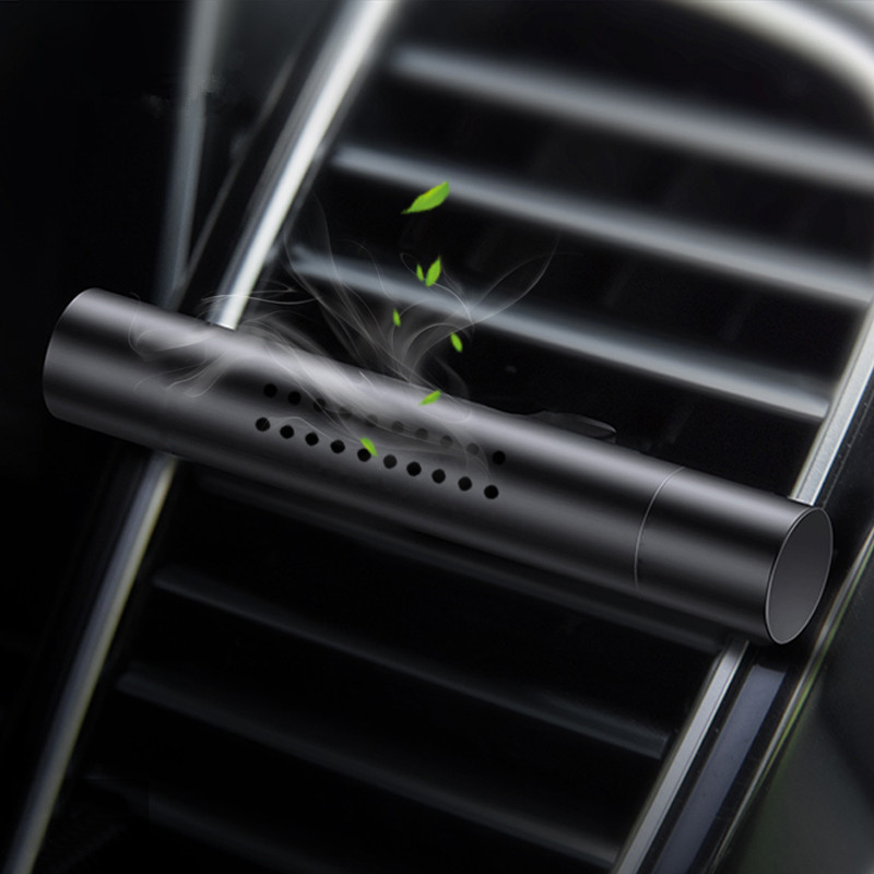 Car Air Freshener Auto Magnetic Metal Perfume Diffuser Solid Air Vent Clip Fragrant Scent