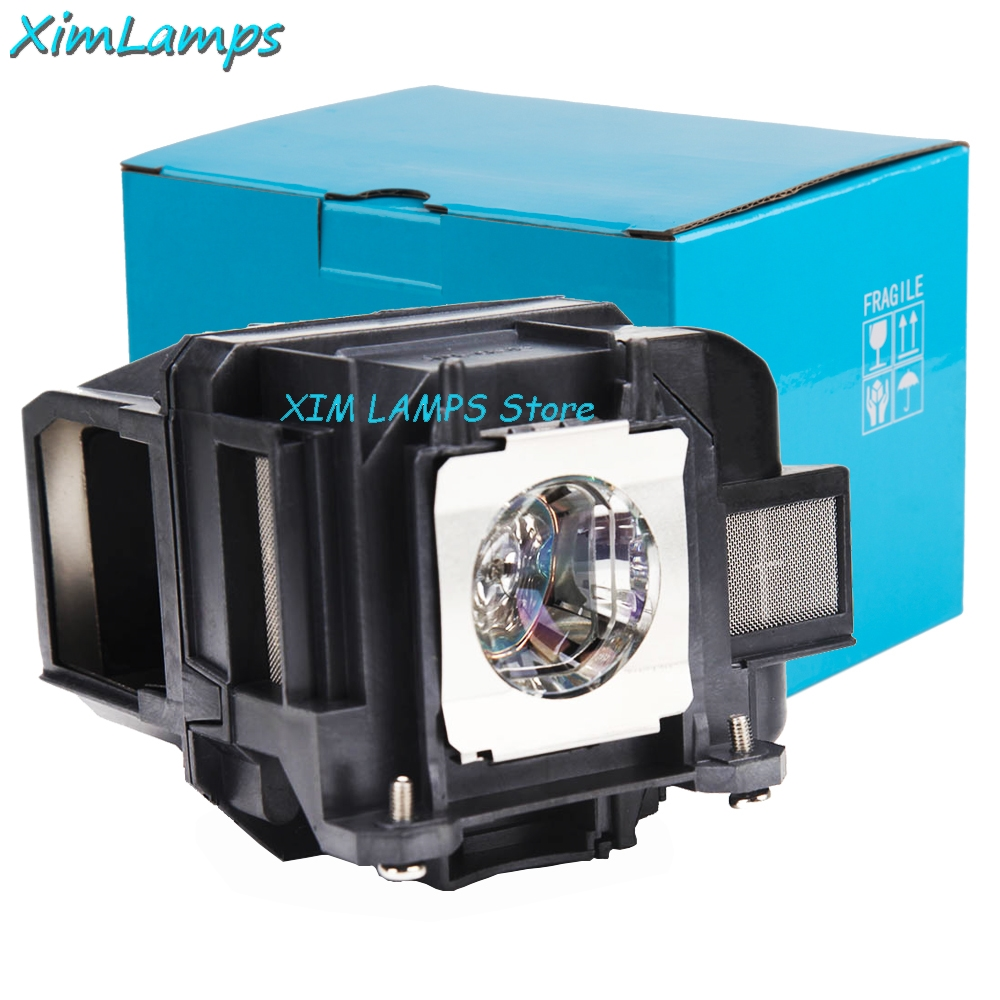 XIM V13H010L88 Compatible Projector Lamp with Housing for EPSON Powerlite S27 EB-S04 EB-945H EB-955WH EB-965H EB-98H EB-S31 awo compatible projector lamp elplp52 v13h010l52 replacement with housing for epson powerlite pro z8000wunl z8050wnl eb z8000wu