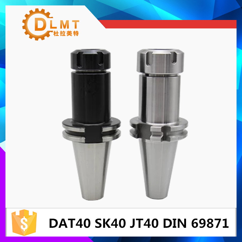 New DIN69871 sk40-er32 DAT40 JT40 SK40 ER32 ER25 ER20 ER16 70L 100L Spring Collet Chuck CNC Toolholder Milling Lathe Cutter er20 collet motor shaft chuck er er11 er16 er25 er32 spindle extension rod tool holder cnc milling drill chuck b10 12 18 jt2 6
