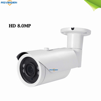new 4K 8mp ultra hd 4 in 1 cvi tvi analog ahd night and day view CCTV Bullet waterproof IR AHD security surveillance camera