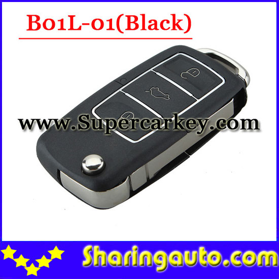 imágenes para Envío gratis (1 unidades) B01L-01 3 Abotona Llave Alejada con el color Negro para URG200/KD900/KD200