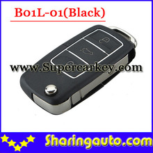 Free shipping (1 piece)B01L-01 3 Button Remote Key with Black colour for URG200/KD900/KD200