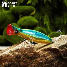 NOEBY Topwater Floating Popper Fishing Lure 120mm/160mm Hard Bait Iscas Artificiais Leurre De Peche Wobbler Sea Fishing Tackle noeby fishing lures 50mm 0 7g 75mm 2 2g soft bait leurre souple dur peche iscas artificiais para pesca fishing wobbler