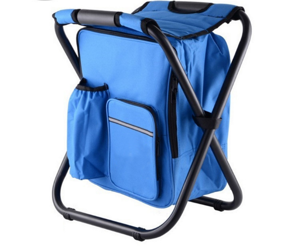 Genteel Fashion Multi-function Folding Chair Creative Portable Backpack Chair Outdoor Camping Must-have Folding Chair Beach Chair Q372 2019 New Fashion Style Online Furniture Outdoor Furniture