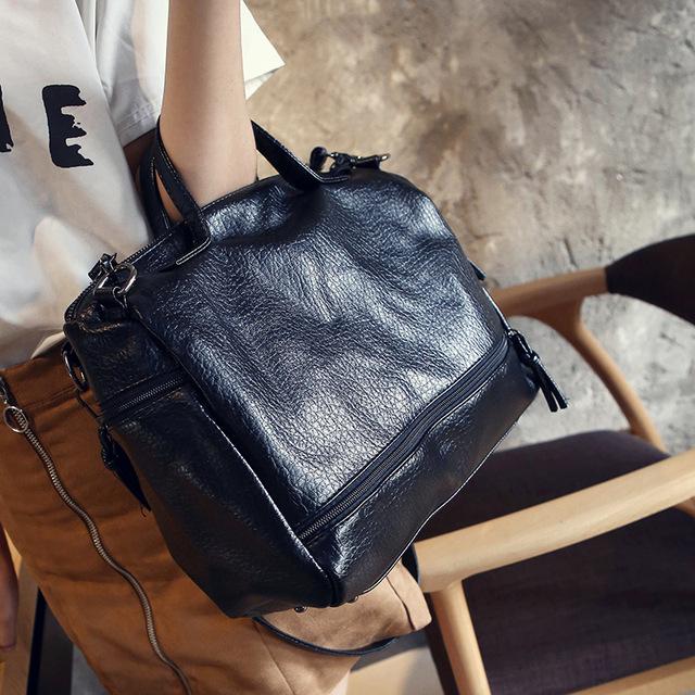 2017 Real pu Leather Famous Brand women messenger bags luxury handbags women bags designer bolsa feminina sac a main Tote