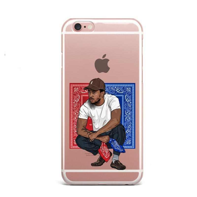 86f3fe45cc2f4 Kendrick Lamar & J Cole painting art Clear Soft silicone TPU Phone Case  Cover For iphone 7 7Plus 6 6S Plus 5 5s SE 8 8Plus X 10