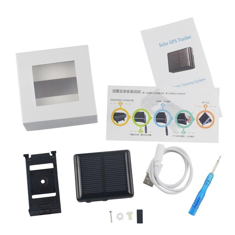 Traqueur solaire GPS de vache traqueur pour animaux de compagnie traqueur GSM GPS RF-V26 étanche IP66
