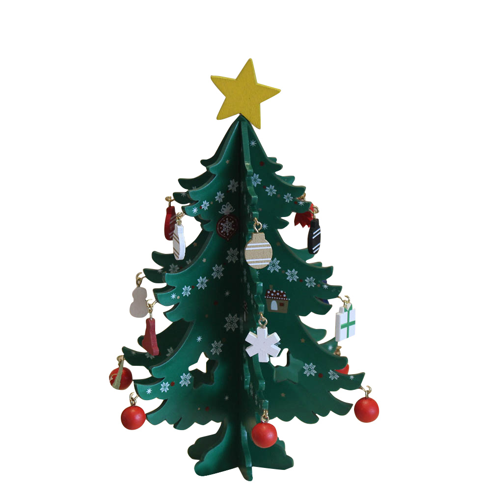 Magic Mini Christmas Tree Festival Decorations For Home&Office Party Ornaments Decor Xmas New Year Gift Supplies Wholesale P0.2