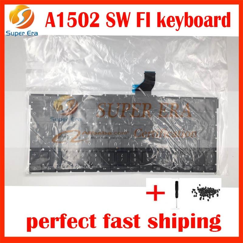 A1502 Swedish Sw Sd Finnish Finland Keyboard For Macbook
