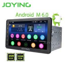 """Joying Ostatnie 2Din Android 6.0 Samochodowy radioodtwarzacz Stereo HD 8 """"odtwarzacz Stereo Radio Dla Toyota Corolla Avensis RAV4 Prius Camry Hilux"""