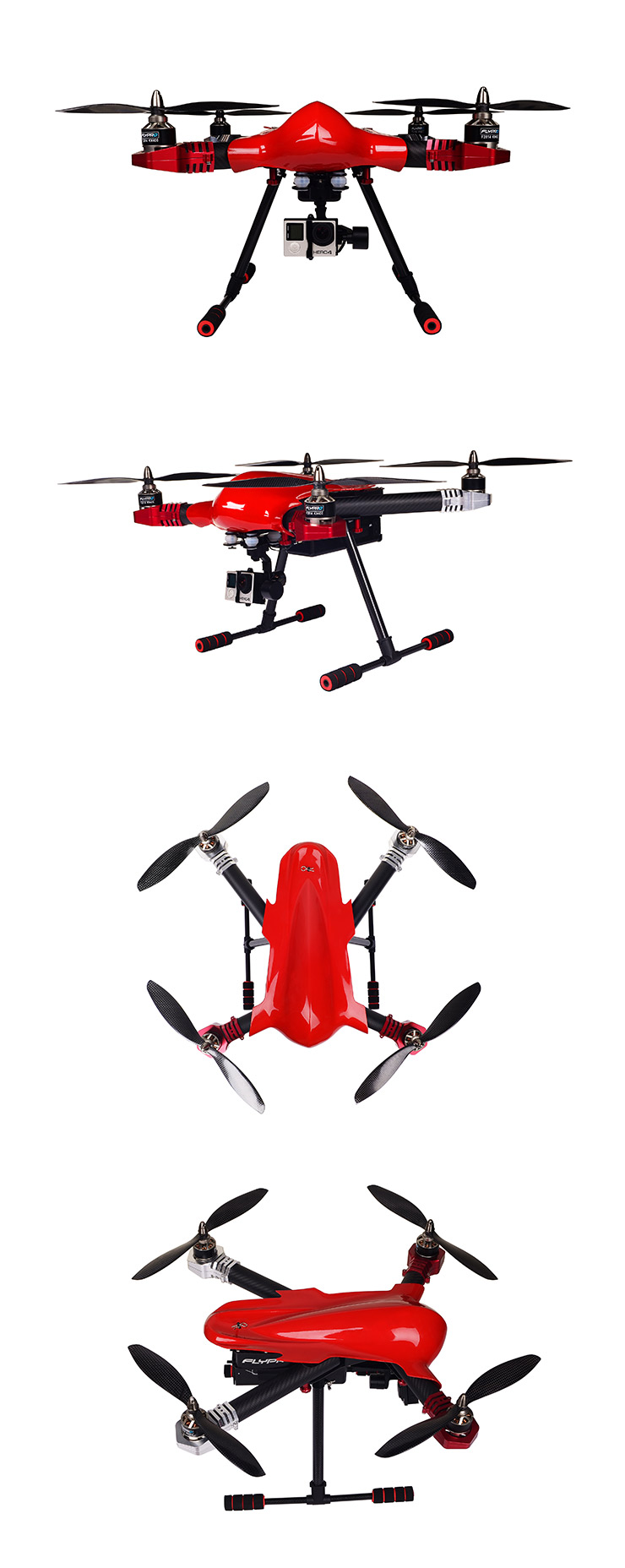 FLYPRO PX400: World\'s First Auto-follow and FPV Drone