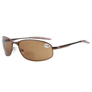 Image 3 - S15003 Bifokale Eyekepper Metallrahmen Outdoor Bifokale Sonnenbrille + 1,0/+ 1,5/+ 2,0/+ 2,5/+ 3,0