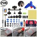 54 шт./компл. Paintless Dent Repair PDR Tools Slide Hammer T Bar Puller клеевой пистолет Tap Down Hammer