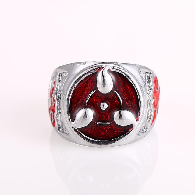 Naruto Sharingan Pattern Men Ring