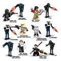 12 Unids Rogue Uno Figuras K-2SO Clone Storm Trooper de Star Wars Yoda Darth Vader Bloques de Construcción Ladrillos Compatible Con Lepin