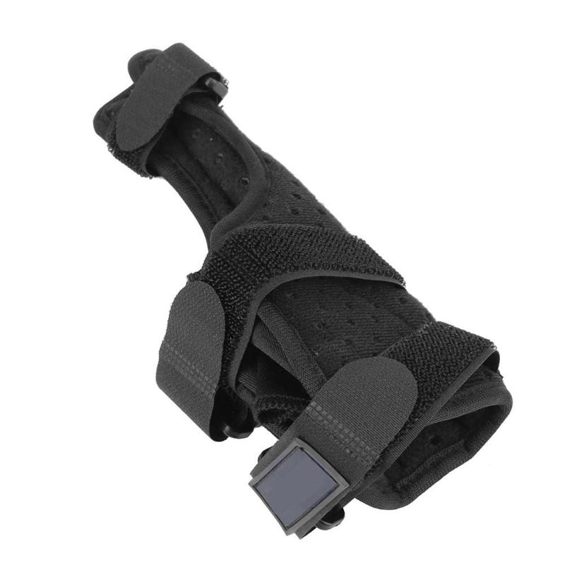Outdoor Thumb Fracture Protection Wrist Wrap Unisex Sport Safety Healthy Care Hand Palm Wrist Brace Support Black