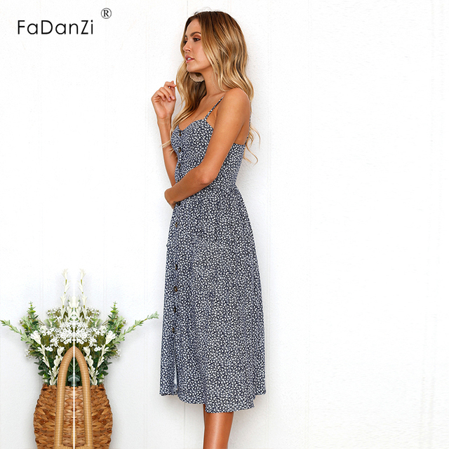 2018 Summer Maternity Skirt Printing Sling Maternity Dress Pregnancy Clothes  Long Section Beach Dress Summer Clothes For Women 0f3041307996