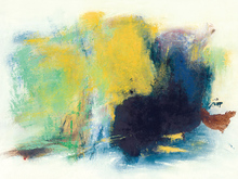 Chinese abstract art  frameless canvas paintings decorative posters contemporary masterpiece reproduction Untitled by Zhao