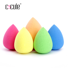 Cocute Beauty Makeup Sponge Cosmetic Puff Smooth Foundation Make Up Sponge Top Quality Face Powder Colored