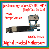 S7 Motherboard unlocked for Samsung Galaxy S7 G930F/G930FD Motherboard 32gb mainboard Android OS System