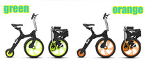 Little Q -1-HZ- intelligent electric bicycle folding electric scooter