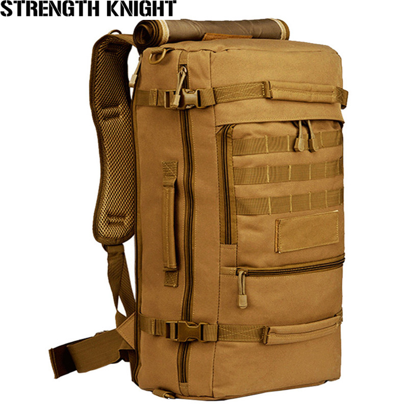 Brand 50L Waterproof Nylon Backpack Military Unisex Men's Backpacks for Laptop Women Notebook Bag Backpack 14 to17 Inch brand 50l waterproof nylon backpack military unisex men s backpacks for laptop women notebook bag backpack 14 to17 inch
