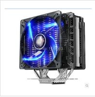 4 Pin Pccooler S123E For AMD INTEL Platform CPU Radiator Double 12 Cm Smart Blue Fan