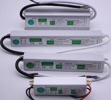 LED Transformator Netzteil Adapter DC12V/24 v 10 watt/20 watt/30 watt/36 watt /50 watt/250 watt Wasserdicht ip67 Led-treiber Transformator für streifen licht