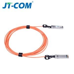 Image 5 - 1m/3m/5m/10m/30m SFP + 10Gb AOC SFP 모듈 10G 30 미터 액티브 광 케이블 Cisco 네트워크 스위치와 호환 무료 배송