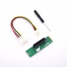 5 шт./слот pci-e 4X к NGFF M.2 M ключ PCI E слот адаптер женщин и мужчин Riser Card адаптер 4 pin Мощность кабель Прямая доставка