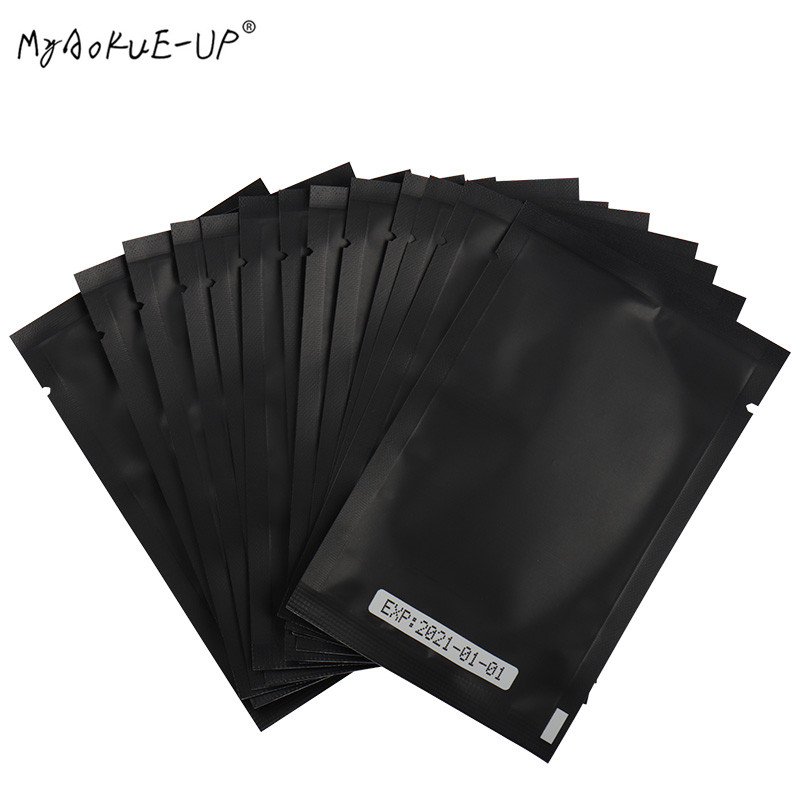 500 Pairs/lot Wholesale Under Eye Pads Gel Eyelash Paper Patches Eye Tips Sticker Wraps For Eyelash Extension Makeup Tools
