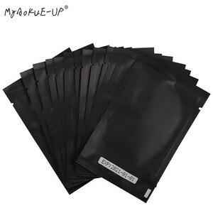 Image 1 - Wholesale  500 pairs Under Eye Pads Gel Eyelash Paper Patches Eye Tips Sticker Wraps For Eyelash Extension Makeup Tools