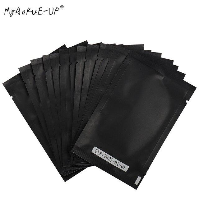 Wholesale  500 pairs Under Eye Pads Gel Eyelash Paper Patches Eye Tips Sticker Wraps For Eyelash Extension Makeup Tools