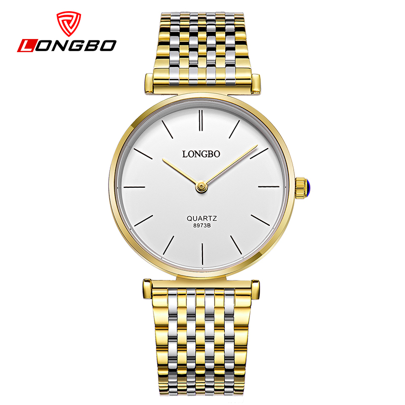 где купить  LONGBO brand simple fashion quartz watch women dress reloj mujer luxury diamond gold watches ladies clock relogio feminino 2017  дешево