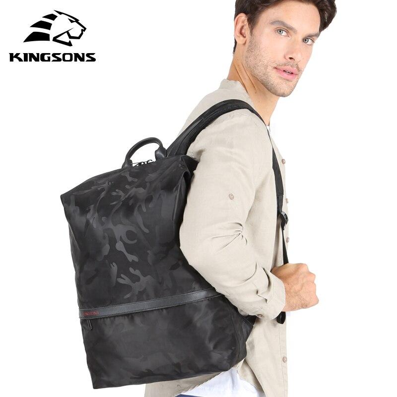 Kingsons Для мужчин рюкзаки для 15,6 дюйм(ов) ноутбук рюкзак большой Ёмкость Для женщин сумки на ремне студенческие Повседневное Сумка водоотталк...