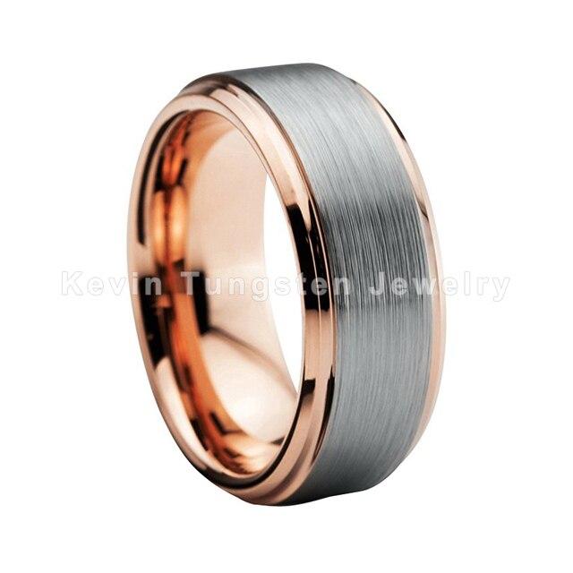 8 мм обручальное кольцо из вольфрама для мужчин и женщин цвета