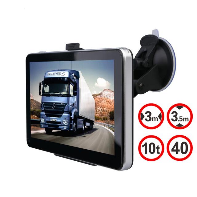 Hindly GPS Do Carro Navegação 7 polegada 128 MB 800 Mhz 8 GB Wince 6.0 Full Europa/EUA/Rússia Navitel Navigator Sat Nav Caminhão Veículo GPS