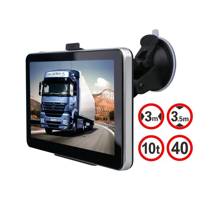 Tom Car GPS Navigation 7 inch 128MB 800Mhz 8GB Wince 6.0 Full Europe/USA/ Russia navitel navigator Sat Nav Truck vehicle gps