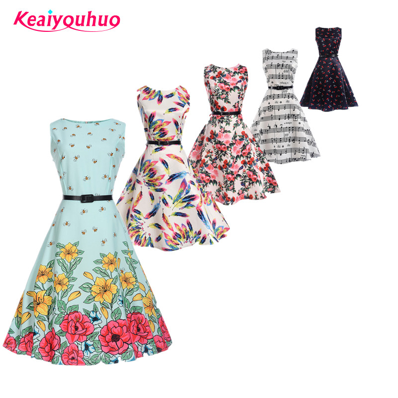 Girls dress 2018 new Summer Children Kids Clothes Baby Girl Clothing Floral print teens 11 12 13 14 15 16 years Birthday Dresses