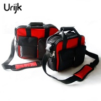 Urijk Multifunction Oxford Tool Bag Organizer Network Repairing Set Waterproof Buckle Strap Thickening Reinforced Handle 2