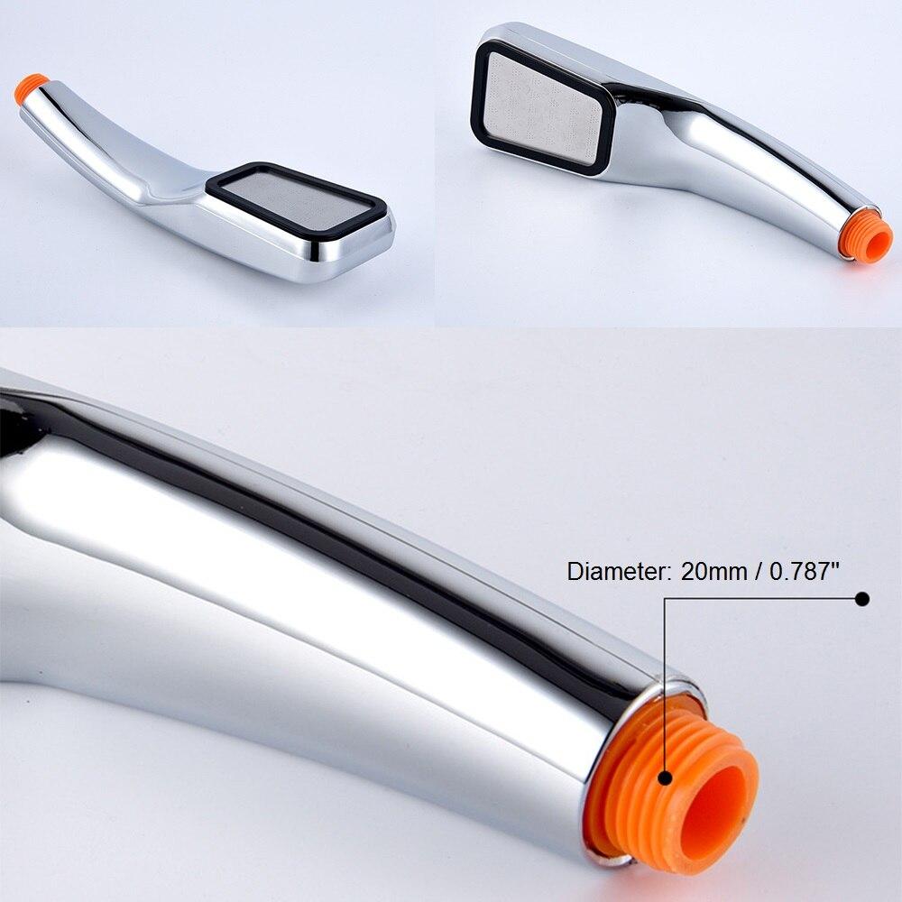 Anpro 300 отверстие квадратная душевая головка высокого давления для ванной душ ручной душ водосберегающая душевая головка фильтр-распылитель