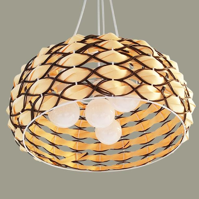 Aliexpress.com : Buy Hemp Pendant Lights personality creative ball ...