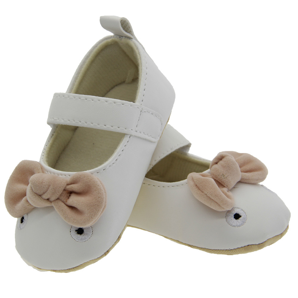 Baby First Walkers Baby Shoes Cute Non-slip Toddler Shoes Soft Bottom First Walkers for Babies