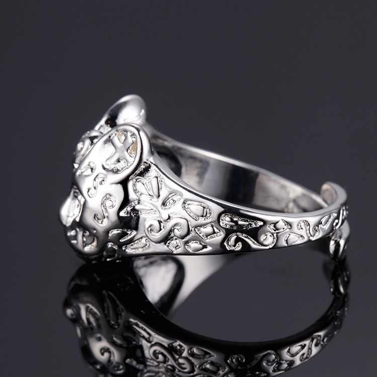แหวน925เครื่องประดับแฟชั่นของขวัญแหวนเงินPJ214