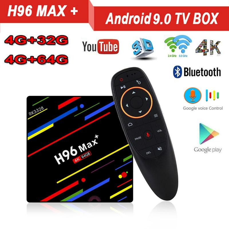 H96 MAX Plus Android 9 0 4GB RAM 32GB 64GB ROM TV Box 4K H 265