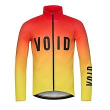 Фотография 2017 VOID Winter Thermal Fleece Cycling Jersey Long Sleeve Jerseys Road Bike Wear Bicycle Jersey Cycling Clothing