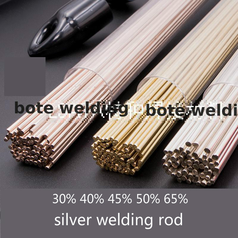 High Quality 30%-65% Sliver Welding Rod Soldering Electrode Air Conditioning Refrigerator Stainless Steel Iron Alloy