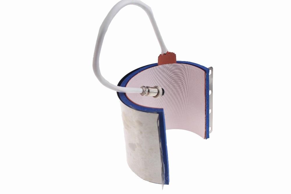Sublimation Mug Press Machine Accessory 7.5CM 11OZ Standard Size Cylinder Shape Silicone Mug Heating Pad/Mat For ST-210