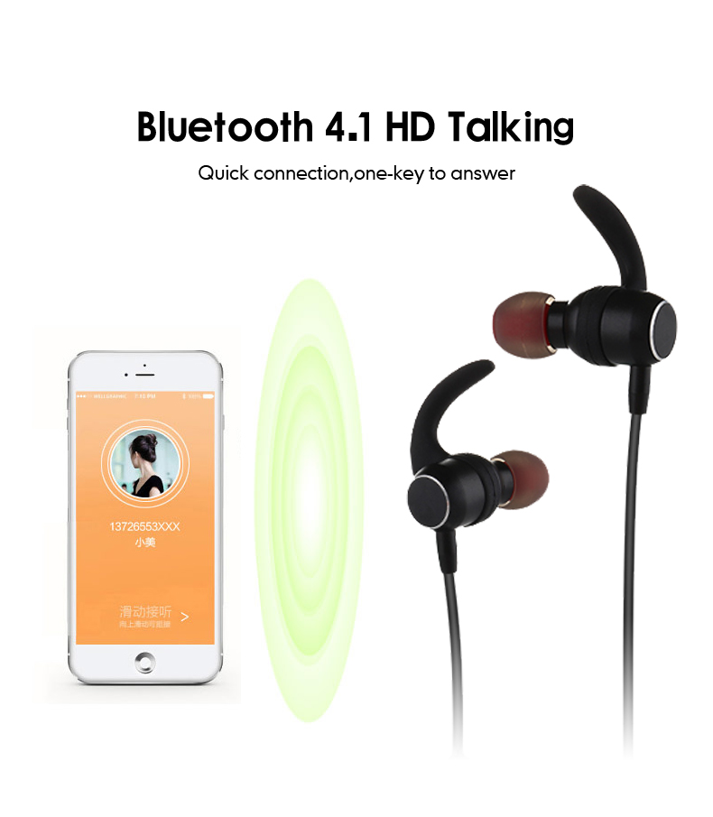 6 sports headphone for